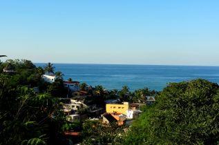 Villas above the Pacific