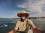 Kayaking outside of Banderas Bay