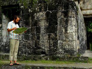 Navigating the ruins
