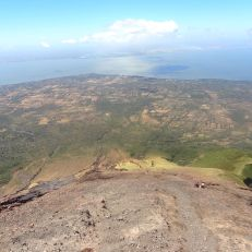 Down toward Lake Nicaragua