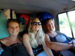 Sofie, Emmie and Christina somewhere in Honduras