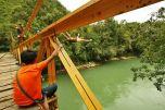 Sending the bridge jump