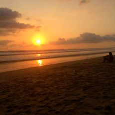 Sunset in Santa Theresa