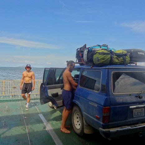 Ferry across the Gulf of Nicoya