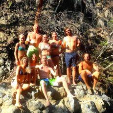 Montezuma Falls crew