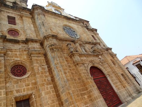 The Cathedral in Colonial Cartagena