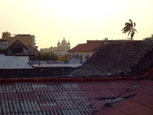 Sunset across the rooftops