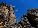 Sharp crag