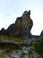 Toothy crag
